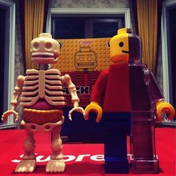 【sammi toys】 現貨 設計師 Jason Freeny 12吋 巨大 半剖 樂高 積木人 MightyJaxx