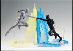 星魂 SHF 七龍珠 海賊王 霸氣 爆氣 暴走 TRANS-AM 界王拳 覺醒變身 特效件 四色 紫黑/藍/黃色/紫黑