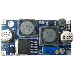 車用12V電源穩壓模組 寬壓帶輸入5-35V DC-DC自動升降壓 執行穩壓輸出電力有2個屏蔽電感抗干擾