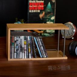 【可開發票】巨陽CD收納架PS4游戲碟片架 桌面CD架實木藍光碟游戲光盤架子CD架—聚優購物網