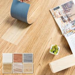 仿木紋地貼 地板貼-40片【免運】DIY 塑膠地板 1.7坪 PVC地板  阻燃防水耐磨地貼【Q005-40】