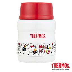 膳魔師Hello Kitty不鏽鋼真空保溫食物燜燒罐0.47L(SK3000KT-WH)