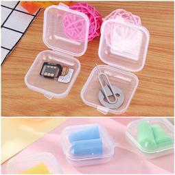 ✿芷妡小舖✿ 耳塞盒 35x35x18mm 耳機矽膠盒塑膠盒零錢盒海綿盒 可放 3M 1100 1110