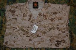 全新特價現貨 USMC 美國海軍陸戰隊 公發 數位沙漠 Insect Guard 驅蟲處理版 戰鬥衣 MARPAT