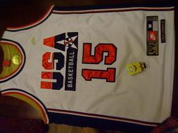 請先看關於我-魔術強森美國夢幻隊球衣 usa dream team magic johnson M