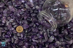 ☘️南門水晶的家☘️天然紫水晶碎石(大) 腦筋靈活 100g/250g/600g/1000g