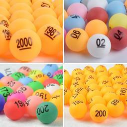☛新品折扣☚#爆款#單面數字球200號碼球抽獎球乒乓球 促銷抽籤球博彩球可定制摸獎球