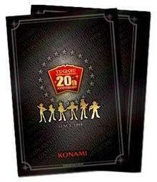 @潔西卡的太太@遊戲王 20th 20週年限定禮盒 卡套 (100 張入) 全新