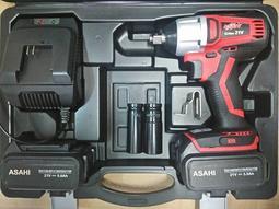 預購中 刷卡分期650n.m日本ASAHI SF2150 無碳刷充電起子機/充電電動板手21V 三星厘電5.0AH*2