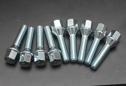 鋁圈螺絲 螺栓 加長螺絲 BMW VGA VW M12X1.5 改裝螺絲 牙長43mm