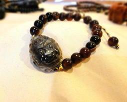 賈人藝術-西藏天眼珠-不動明王手鍊-(公司貨和悅康-藏寶聖同貨源)