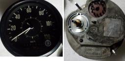 復古日本制運行紀錄器(未測試當收藏/裝飾品)