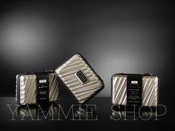 金屬光澤硬殼款  TUMI &達美航空 頭等艙 盥洗包 過夜旅行收納包 完勝RIMOWA 保真(TBH16/19/20)