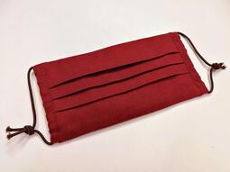 【千葒工作坊】素色三用布口罩-平面打摺款 (成人/兒童)可放醫療口罩 可放濾材