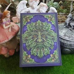 神聖綠人(橡樹精靈)塔羅盒