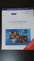 《Finite Mathematics for the Managerial, Life, and Social Sciences 9/e》ISBN:0495389331│Soo T. Tan│九成新 無筆記