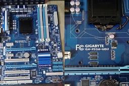 【 大胖電腦 】技嘉 GA-P55A-UD3 主機板/附擋板/1156/P55晶片/DDR3 良品 直購價700元