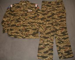 無色差範例1 海軍陸戰隊迷彩衣褲 空特華統紅虎斑