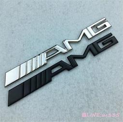新款Mercedes Benz賓士奔驰改装金属AMG车标车贴3D立体装饰贴 AMG车尾标贴
