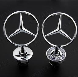 Benz賓士原車立標車標S級系S300S320S350S400S500S600L前車頭標機蓋立標誌