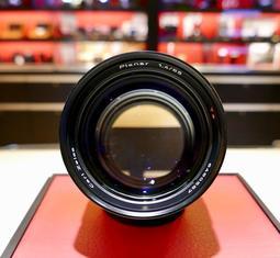 【日光徠卡台中] CONTAX Carl Zeiss Planar 85mm f1.4 C/Y AEG 鏡頭 中古 二手