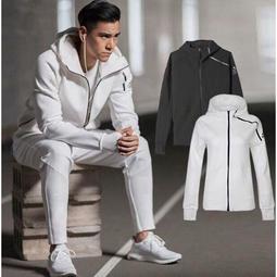 外套+褲子 Adidas/愛迪達貝克漢 彭於晏 黑白兩色 情侶款 連帽外B48878 套S94564 女生套裝 男生套裝