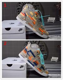 耐吉LUNAR FORCE 1 DUCKBOT POW 新款 網紅格子休閒運動鞋男鞋