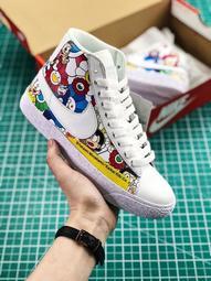 耐吉 Nike Blazer Mid 太陽花開拓者高幫板鞋系列情侶鞋休閒運動鞋男女鞋男鞋女鞋