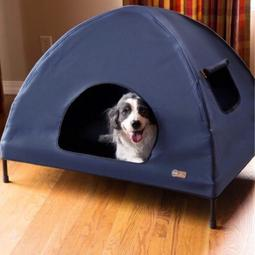 (M號)寵物行軍床 寵物床 寵物透氣床 寵物高架床 寵物飛行床 寵物帳篷 寵物涼床 寵物涼墊