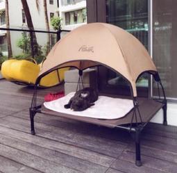 (M號)寵物行軍床 寵物床 寵物透氣床 寵物高架床 寵物飛行床