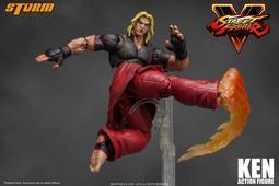 【futuretoys】現貨 STORM TOYS 快打旋風5 Street Fighter 1/12 KEN 肯