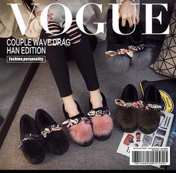 *出清*棉拖鞋女包跟外穿時尚冬季室內居家厚底防滑產後月子鞋冬