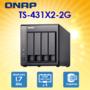 【PChome 24h購物】 QNAP 威聯通 TS-431X2-2G 4-Bay NAS DRAG05-A9008EQTC