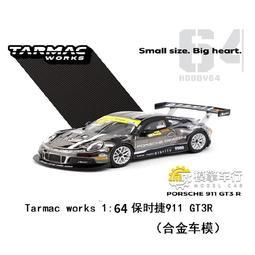 【正品】TW 1:64保時捷911 GT3 R改裝版超跑賽車仿真合金汽車模型收藏2018