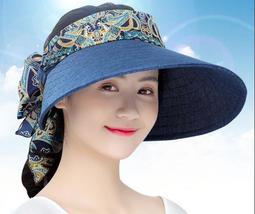 遮陽帽子女士夏天防曬太陽帽防紫外線出游時 【MONA】