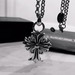 【TSG】代購正品 Chrome Hearts 克羅心 花形十字架項鍊