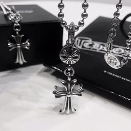 【TSG】代購正品 Chrome Hearts 克羅心 圓珠十字架項鍊