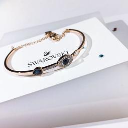 【TSG】代購正品 正品防偽掃碼 SWAROVSKI 惡魔之眼 手鍊 女生手鍊