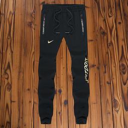L-5XL兩色Nike 耐吉 長褲 運動褲 慢跑褲 休閒運動褲子 純棉 縮口褲 束口 情侶款 學生 褲子496-6208