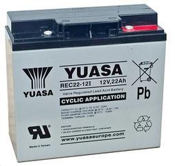 《妍璇福利社》湯淺 YUASA  REC22-12 12V 22AH 電動車 UPS不斷電系統 閥調式鉛酸蓄電池