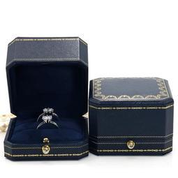 [五月折扣]珠寶首飾包裝盒對戒盒子求婚高檔項鏈盒子戒指盒[Dan小鋪]