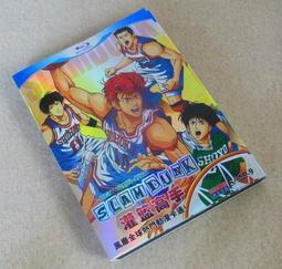 動畫 灌籃高手籃球飛人 SLAM DUNK 101集TV版劇場版 5D9DVD- 精美盒裝