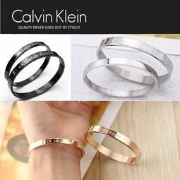 熱賣款 Calvin Klein CK手環 玫瑰金 銀色簡約雅緻手鐲雙環生日情人節送禮最佳首選 名媛時尚男女款手鏈