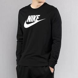 耐吉基本款 Nike衛衣 耐吉大學T 長袖 男生圓領衛衣 長袖t恤 學院風 長袖上衣 Nike男女 運動衛衣 長T