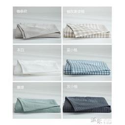 水洗棉床單單件純棉學生宿舍被單1.5m1.8米床套單人雙人全棉床笠   特價倉