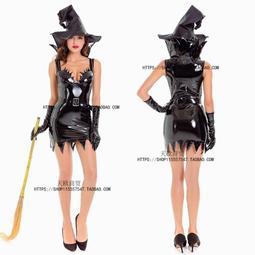 現貨尾牙吸血鬼服裝成人 化妝舞會死神披風黑斗篷cosplay女巫婆長裙