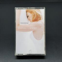 【樂購唱片-卡帶]MADONNA瑪丹娜~SOMETHING TO REMEMBER情難忘~有歌詞,飛碟版/原版卡帶錄音帶