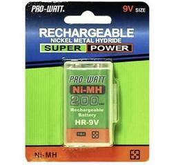 PRO-WATT HR-9V 9V鎳氫充電電池