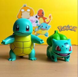 寵物小精靈寶可夢皮卡丘神奇寶貝傑尼龜妙蛙種子擺件手辦公仔
