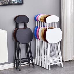 凳子 摺疊椅子家用餐椅懶人便攜休閒凳子靠背椅宿舍椅簡約電腦椅摺疊凳
